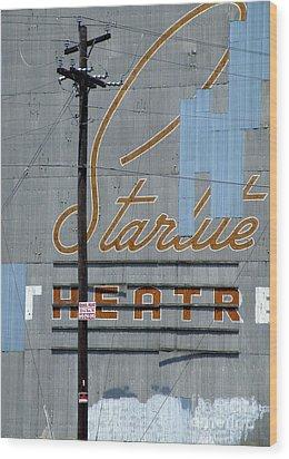 Twilight For Starlite Wood Print by Joe Jake Pratt