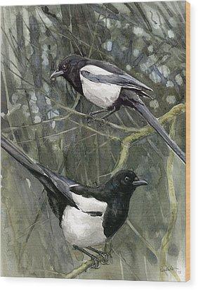 Two For Joy Wood Print by Chris Pendleton