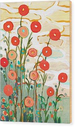 Under The Desert Sky Wood Print by Jennifer Lommers