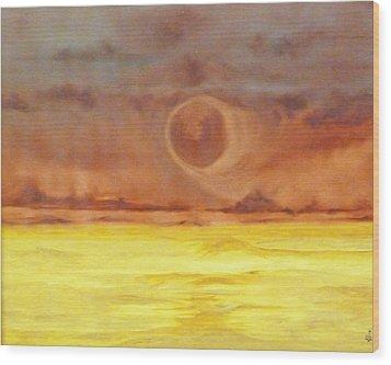 Unknown Planet Wood Print by Cheryl Allin