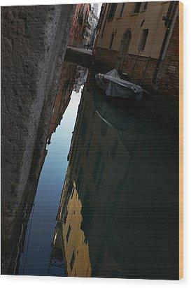 Venice-14 Wood Print by Valeriy Mavlo