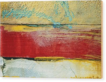 Wall Strip Wood Print by Ray Laskowitz - Printscapes