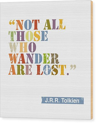 Wanderlust Wood Print by Cindy Greenbean
