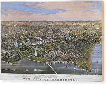 Washington, D.c., 1880 Wood Print by Granger