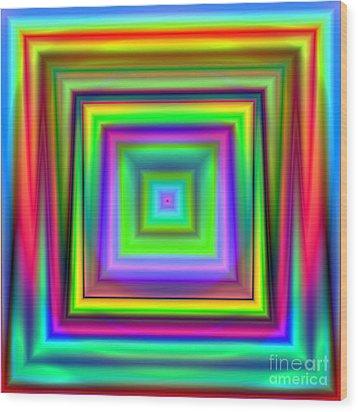 Wave 009 Wood Print by Rolf Bertram