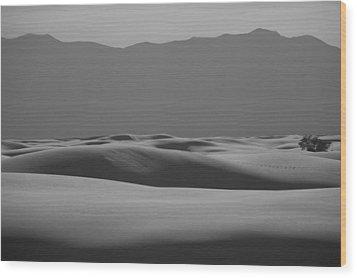 Waves Wood Print by Ralf Kaiser