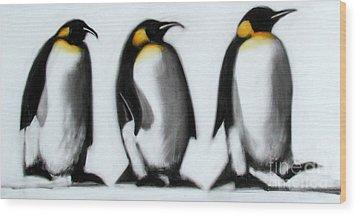 We Three Kings Wood Print by Paul Powis
