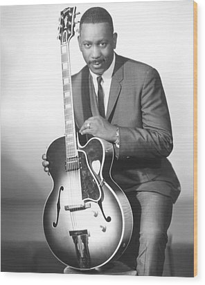 Wes Montgomery, Early 1960s Wood Print by Everett