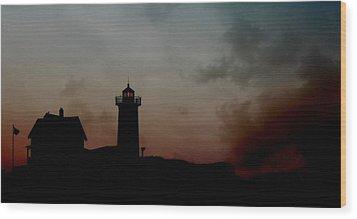 Wicked Dawn Wood Print by Lori Deiter