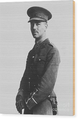 Wilfred Owen (1893-1918) Wood Print by Granger