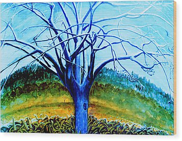 Wiliwili Wood Print by Kevin Smith