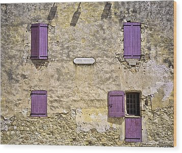 Windows And Doors 4 Wood Print by Mark Coran