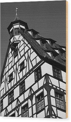 Windows ... Wood Print by Juergen Weiss