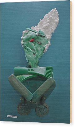 Yogi Levitation Wood Print by Michael Jude Russo