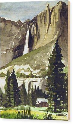 Yosemite IIi Wood Print by Bill Meeker