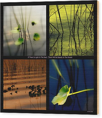 Zen For You Wood Print by Susanne Van Hulst