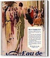 1928 1920s Uk 4711 Eau De Cologne Acrylic Print by The Advertising Archives