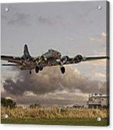 B17- 'airborne' Acrylic Print by Pat Speirs