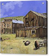 Ghost Town Of Bodie-california Acrylic Print by Guido Borelli