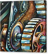 ' In Harmony ' Acrylic Print by Michael Lang