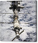 International Space Station Acrylic Print by Anonymous