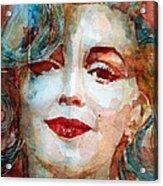 Marilyn   Acrylic Print by Paul Lovering
