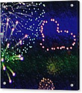 My 4th Of July Acrylic Print by Janie Johnson