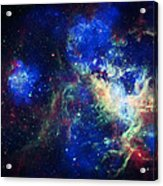 Tarantula Nebula 3 Acrylic Print by The  Vault - Jennifer Rondinelli Reilly