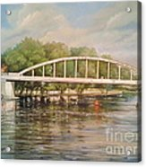 Tartu Arch Bridge Acrylic Print by Ahto Laadoga