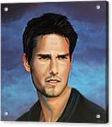 Tom Cruise Acrylic Print by Paul Meijering