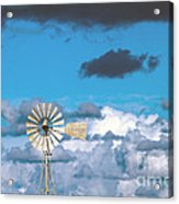 Water Windmill Acrylic Print by Stelios Kleanthous