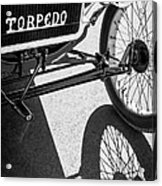 1911 Ford Model T Torpedo Grille Emblem Acrylic Print by Jill Reger