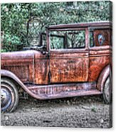 1928 Chevy Acrylic Print by Robert Jensen