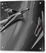 1955 Chevrolet Bel Air Eagle Acrylic Print by Ron Pate
