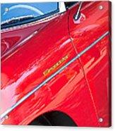 1955 Porsche 356 Speedster Acrylic Print by Jill Reger