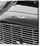 1960 Aston Martin Db4 Grille Emblem Acrylic Print by Jill Reger