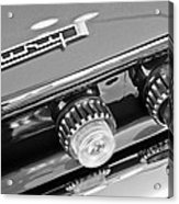 1962 Plymouth Fury Taillights And Emblem Acrylic Print by Jill Reger