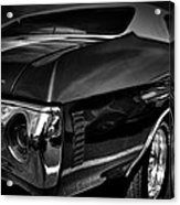 1972 Chevrolet Chevelle Acrylic Print by David Patterson