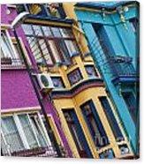 Abstract Istanbul 02 Acrylic Print by Antony McAulay