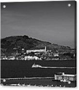 Alcatraz Island Acrylic Print by Mountain Dreams