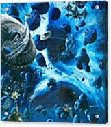 Alien Pirates  Acrylic Print by Murphy Elliott