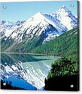 Altai Mountains Acrylic Print by Anonymous