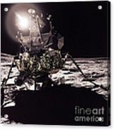 Apollo 17 Moon Landing Acrylic Print by Science Source