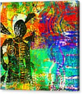 At The Carnival Acrylic Print by Angela L Walker