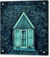 Attic Window Acrylic Print by Jill Battaglia