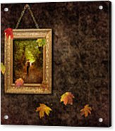 Autumn Frame Acrylic Print by Amanda And Christopher Elwell