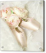 Ballet Shoes Acrylic Print by Theresa Tahara
