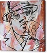 Biggie Smalls Art Painting Poster Acrylic Print by Kim Wang