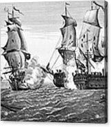 Bonhomme Richard, 1779 Acrylic Print by Granger