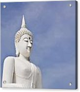 Buddha Statue Acrylic Print by Tosporn Preede